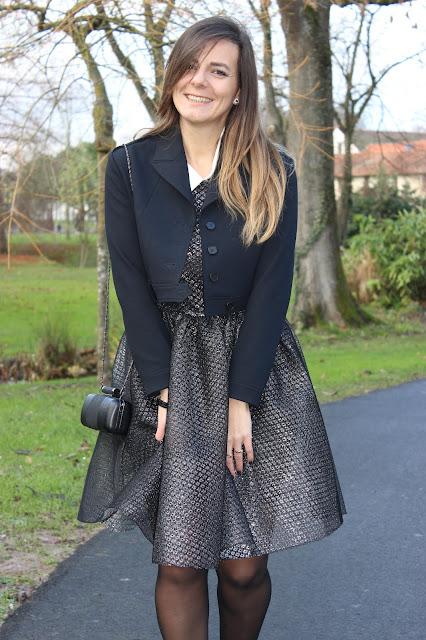 robe maje lurex collection evening 2017 les petites bulles de ma vie