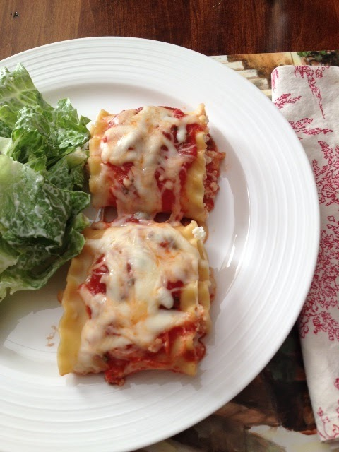 Lasagna roll up recipe