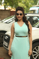 Manjusha in beautiful thin green gown At Jaya Janaki Nayaka le Logo Launch ~  Exclusive 113.JPG