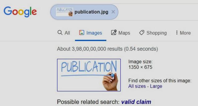 كيفية البحث عن مصدر أى صورة وتفاصيلها بإستخدام جوجل