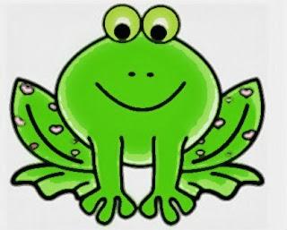 La rana verde es saltarina