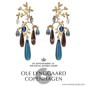 Queen Maxima Jewels OLE LYNGGAARD Gipsy Earrings
