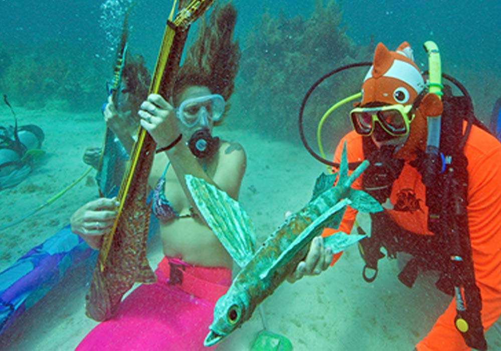Underwater Musical Festival – Florida, USA