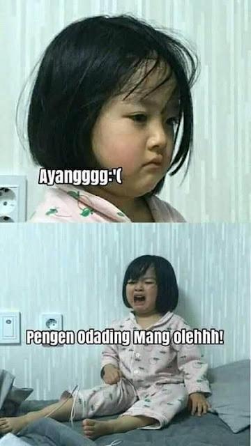 10 Meme Lucu 'Odading Mang Oleh' Ini Bikin Ketagihan Ngakaknya
