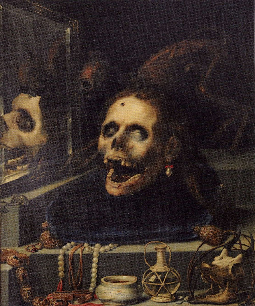 Vanitas, Jacopo-Ligozzi, Religious art, Sacred art, Macabre Art, Macabre Paintings, Horror Paintings, Freak Art, Freak Paintings, Horror Picture, Terror Pictures