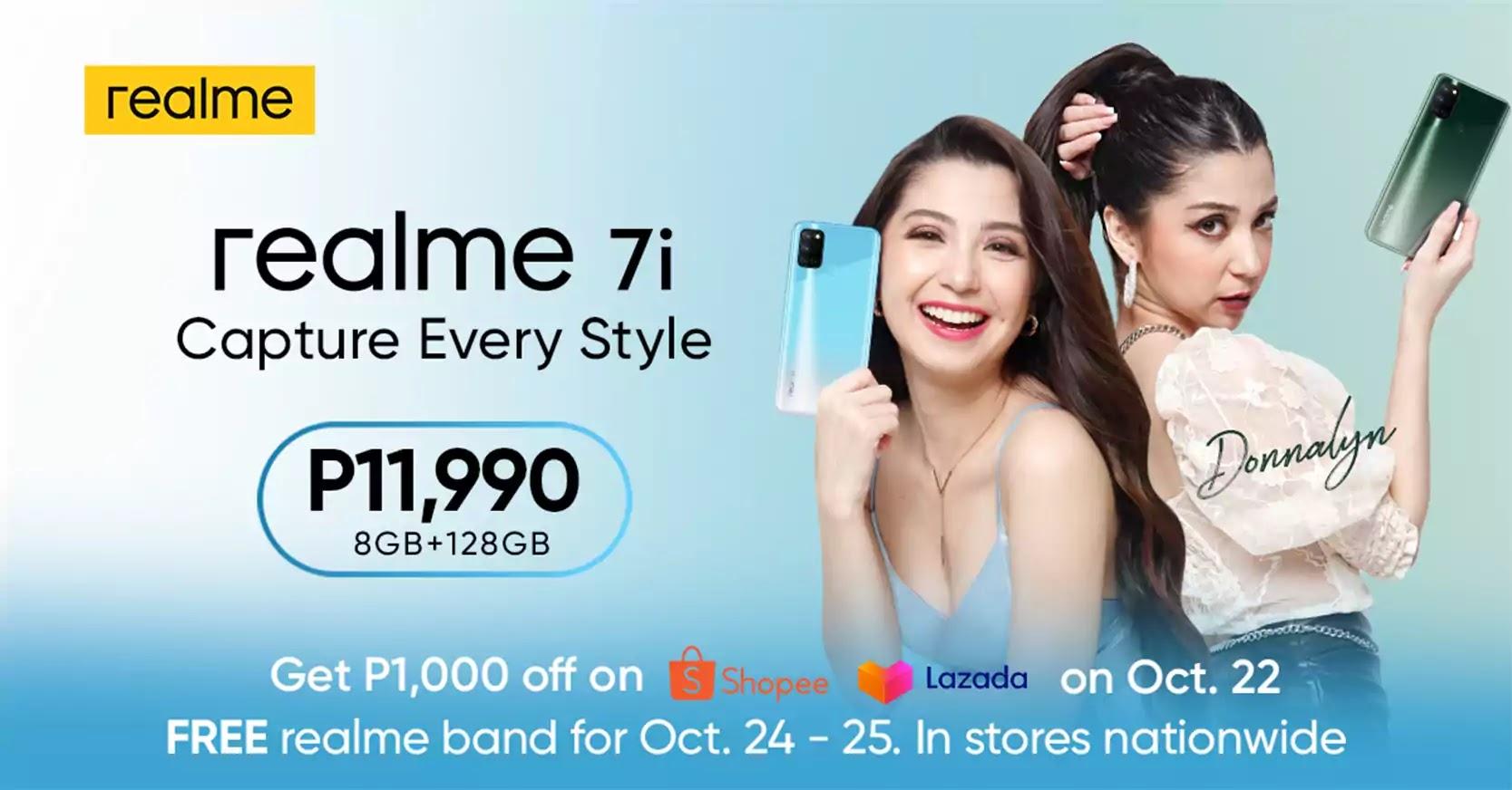 realme 7i Price and Availability