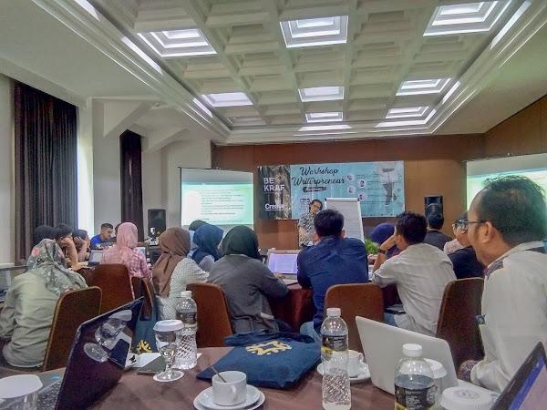 Bekraf Workshop Writerpreneur Bogor 2019: Berkarya Itu Harus Totalitas