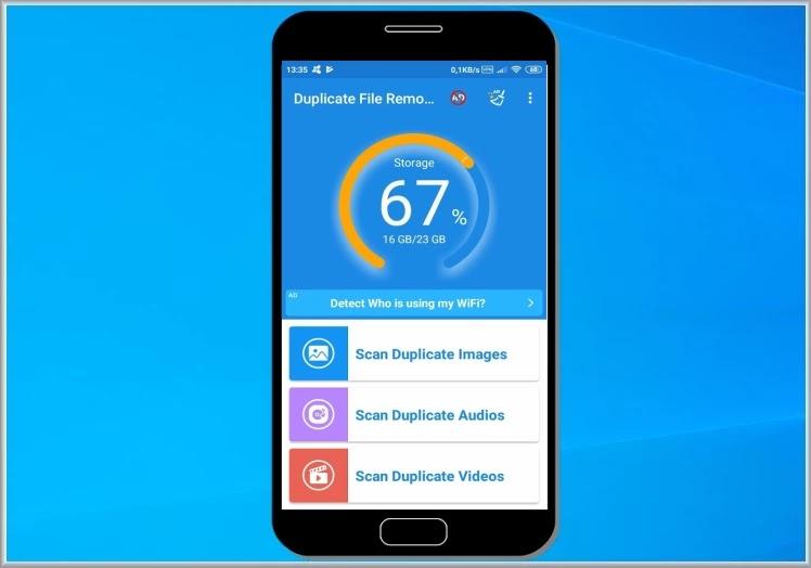 Duplicate File Remover : Διαγράψτε  τα διπλά αρχεία στο κινητό σας