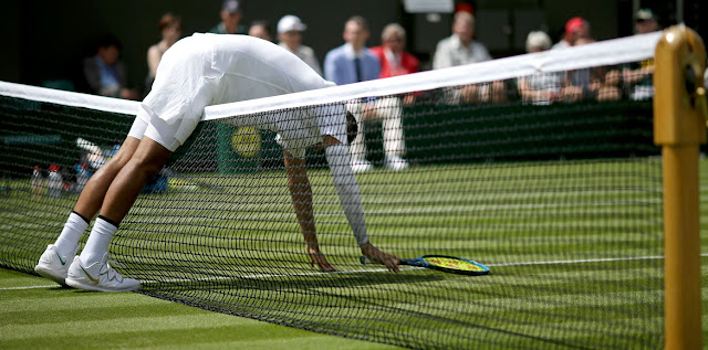Dış Köşe   Wimbledon'un ikinci gününde sürpriz yok!