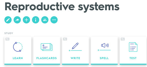 Reproductive systems: male and female. Quizlet study unit