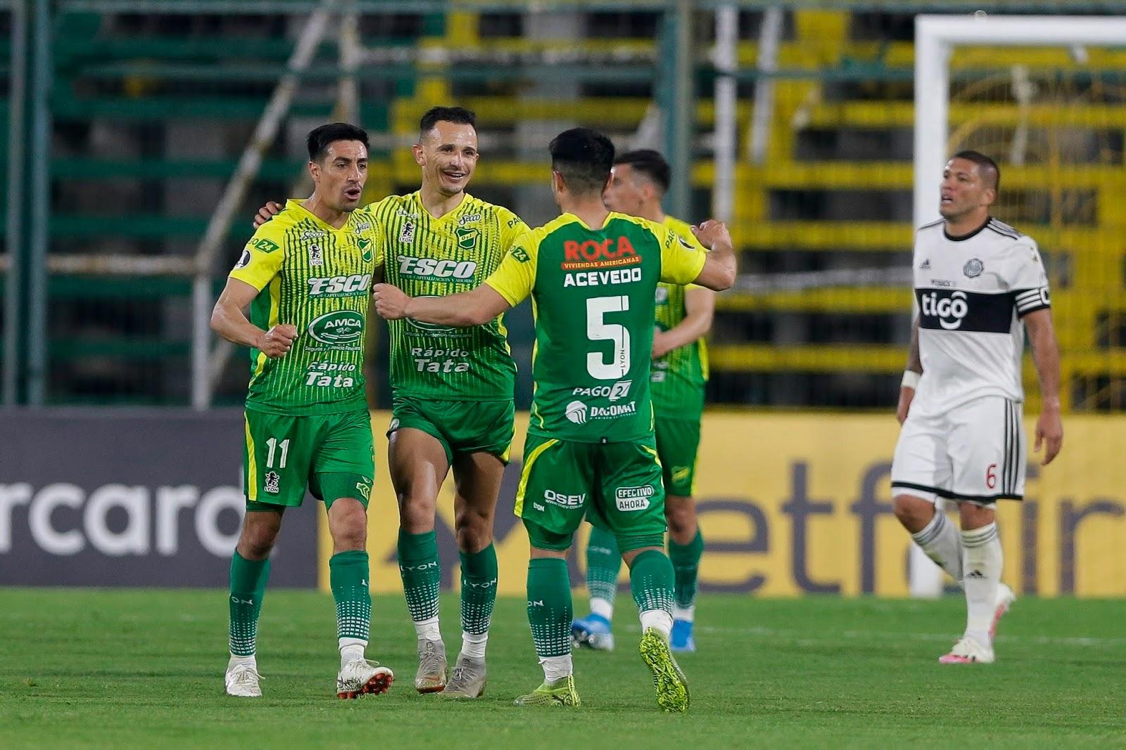 Delfin - Defensa y Justicia Copa Libertadores