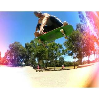 Mark Jansen Skateboarding Adelaide Cumberland Skatepark