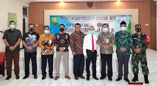 Dandim Jepara Hadiri MOU Kerjasama Posbankum Dengan Pengadilan Negeri Jepara