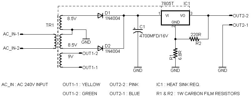 Refurbish C64 Power Supply Unit