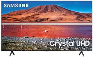 Samsung TV 50 Inch LED 4K Crystal Ultra HD HDR Smart TV TU7000 Series UN50TU7000FXZA 2020