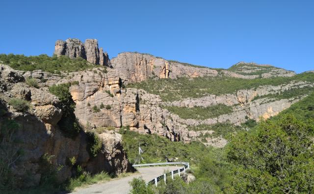 Panoràmica del final de l'extrem sud de l'excursió