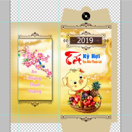 Bao Lì xì tết 2019