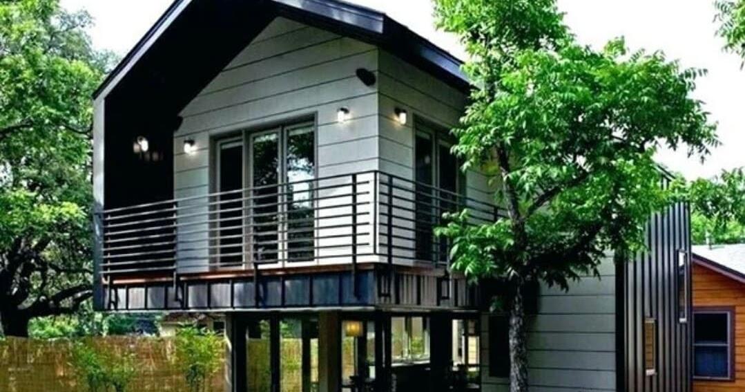 5 Desain Rumah Panggung Beton Terbaik Kekinian Bang Izal Toy