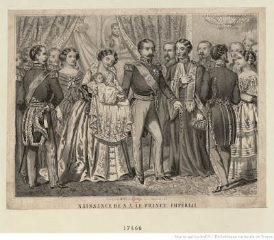 naissance prince impérial 1856
