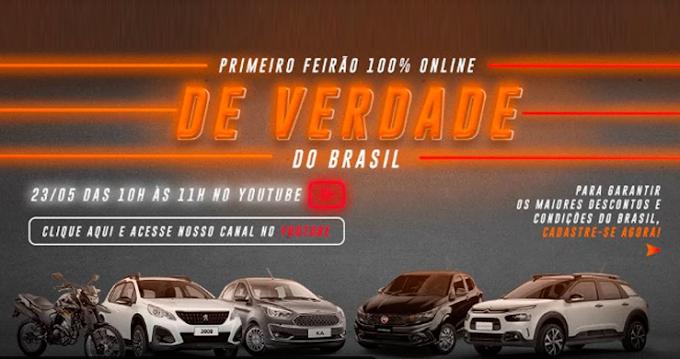 Consumidores ganham primeiro feirão online de carros e motos no Brasil