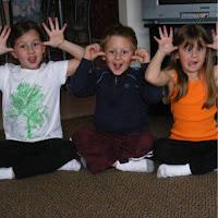 Three of Lorelei's five Grandchildren