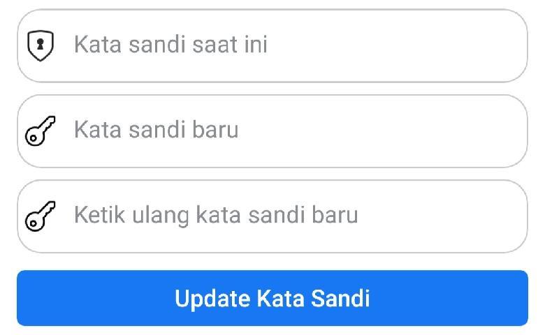 Cara Mengganti Kata Sandi Facebook di Hp Android