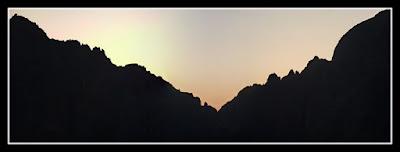 Vista de la cresta Lezat - Quayrat