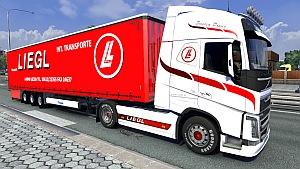 Volvo Liegl skin + trailer