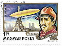Selo Alberto Santos Dumont