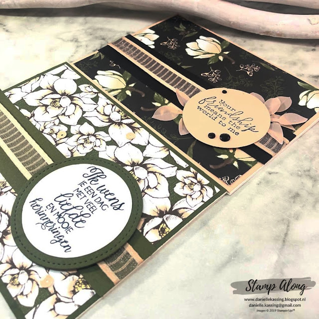 Stampin' Up! Magnolia Lane DSP