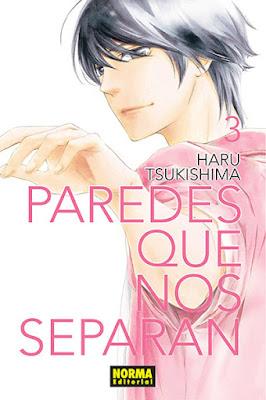 Manga: Review de Paredes que nos separan Vol.3 de Haru Tsukishima - Norma Editorial