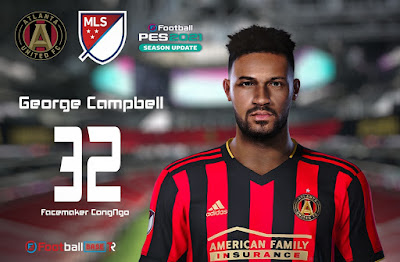 PES 2021 Faces George Campbell by CongNgo
