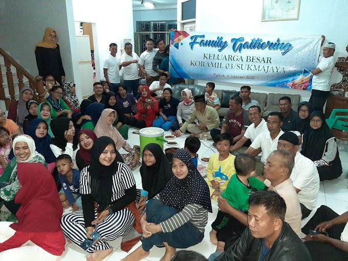 Family Gathering Koramil Sukmajaya Jalin Kebersamaan