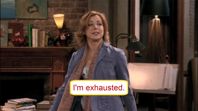 Arti I'm Exhausted