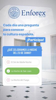 El uso de los cuestionarios de Instagram en nuestra clase de español