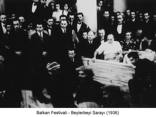 Atatürk Balkan Festivali 1936 Fotoğraf