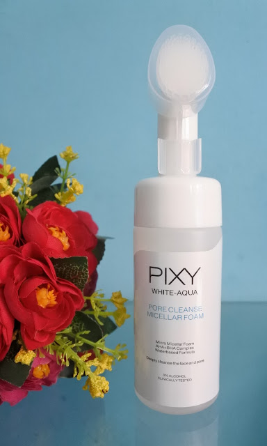 Review PIXY White Aqua Pore Cleanse Micellar Foam