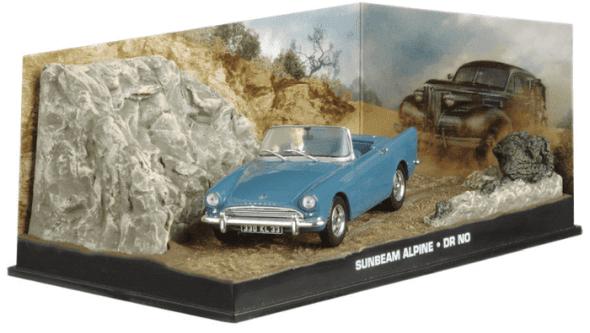 Sunbeam Alpine - Dr No 1:43 colección james bond