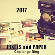 Want more challenge fun?  Join us on Paper and Pixels.