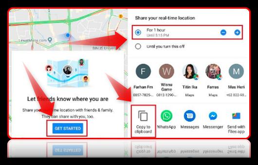 cara melacak lokasi hp dengan google maps