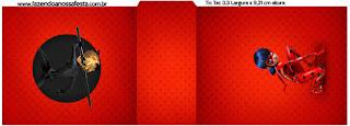 Etiqueta Tic Tac para imprimir gratis de Prodigiosa Ladybug.