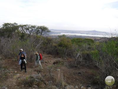 Ascendiendo Cerro Viejo por la cara norte de Cerro Viejo desde San Lucas Evangelista