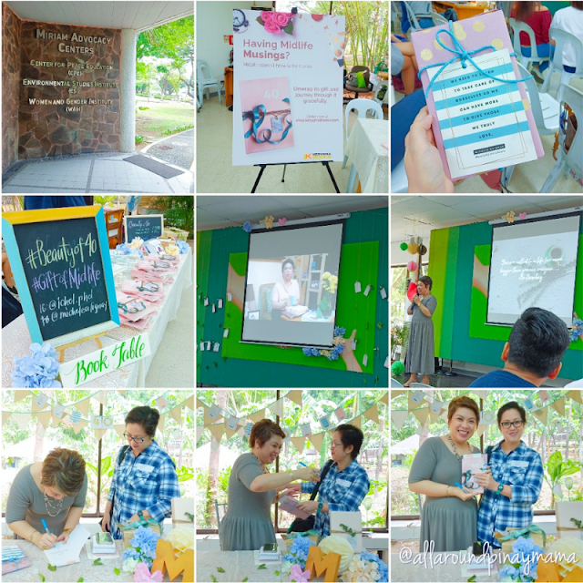Books, Events and Workshops, Michele S. Alignay, Must-Read, Pinoy Author, The Beauty of 40 Unwrapping the Gift of Midlife, SJ Valdez, All-Around Pinay Mama Blog