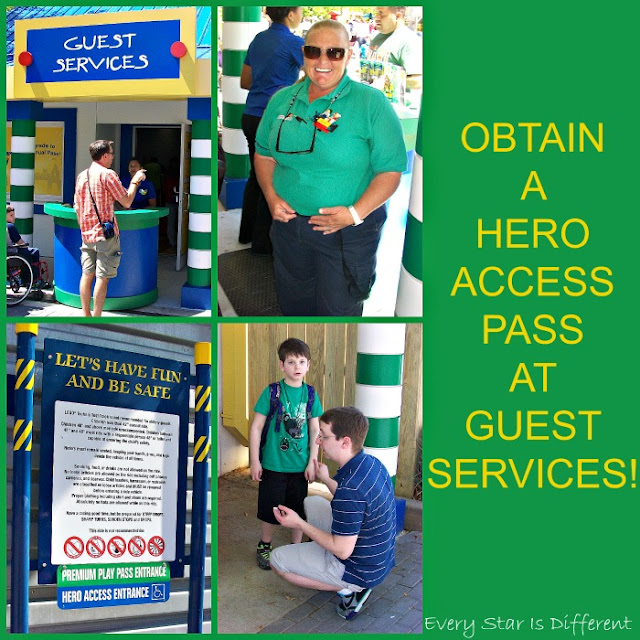 Hero Access Pass at LEGOLAND for families with special needs