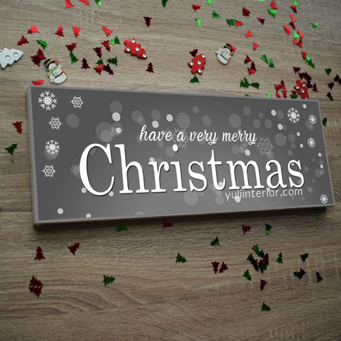 Christmas Wall Decor, Wood Signs in Port Harcourt, Nigeria