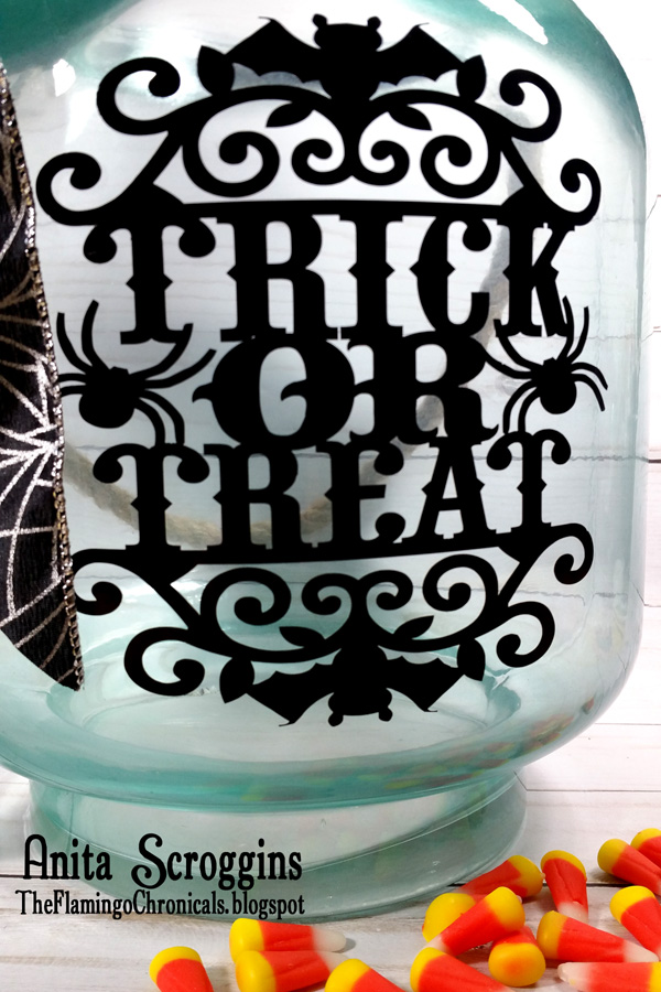 Fun trick or treat bucket
