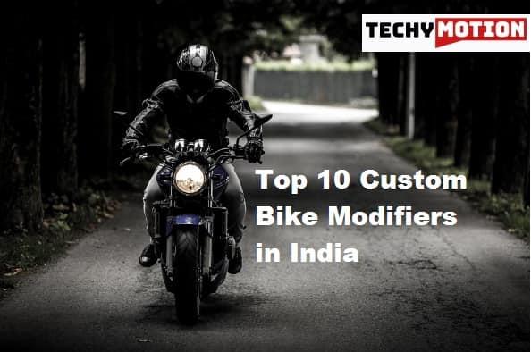 Top 10 Custom Bike Modifiers in India