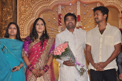 Vijay at Shiva wedding