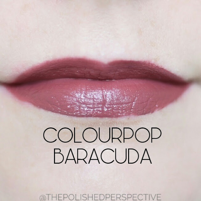 colourpop baracuda swatch