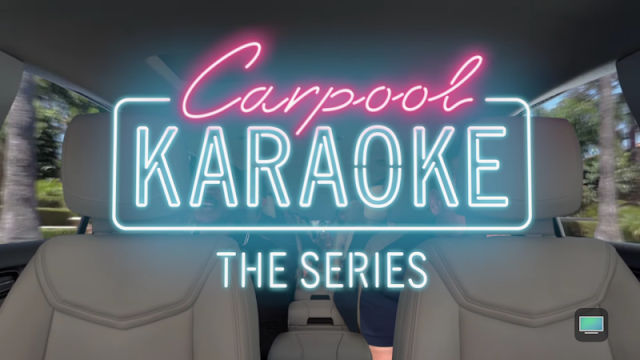 Apple To Offering Carpool Karaoke To Everyone For Free Through Its TV App